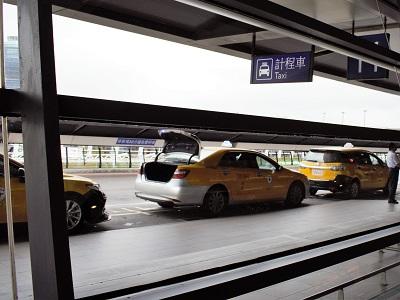 桃園空港から台北のタクシー料金