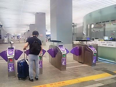 台北駅から桃園国際空港まで電車MRTの行き方