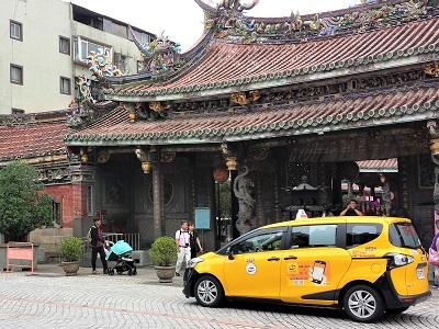 台北のタクシー料金
