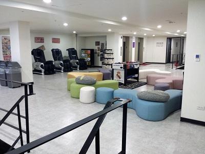 台北のホテルファンリンセンのマッサージチェア
