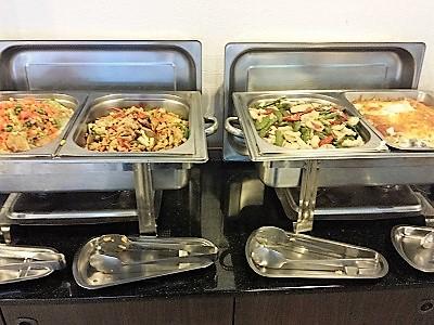 台北のホテルファンリンセンの朝食