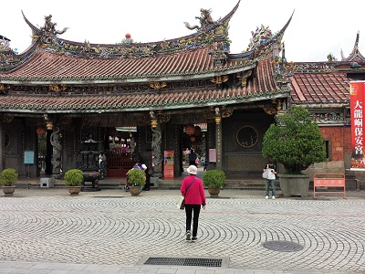 圓山駅から保安宮と孔子廟への行き方