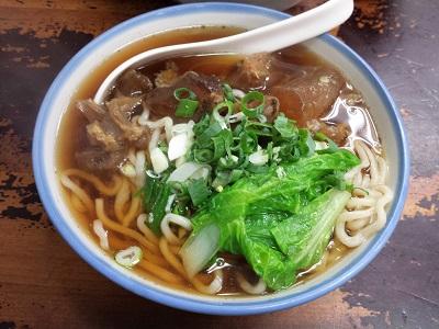 小南鄭記台南碗粿の牛筋麺
