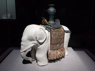 故宮博物院の白瓷太平有象