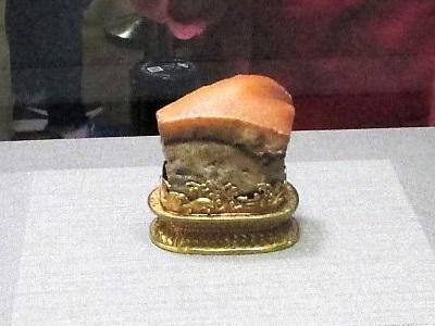 故宮博物院の豚角煮(肉形石)