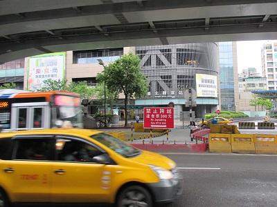台北轉運站バスターミナルの場所