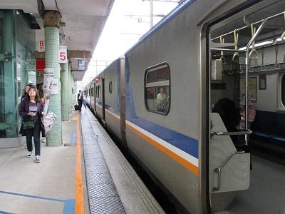 台北駅から瑞芳駅までの電車