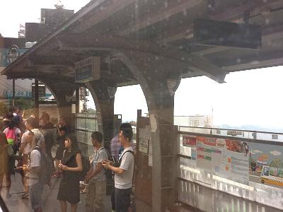 九份から台北へのバスでの行き方