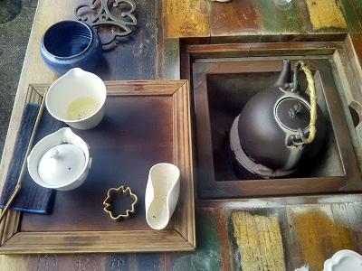 九份茶房の茶器