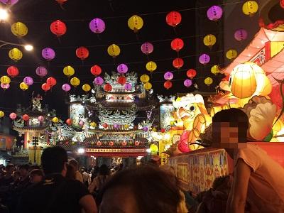松山慈祐宮のお祭り