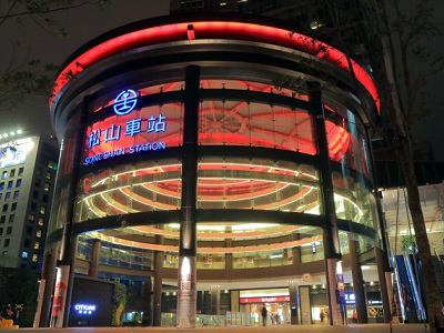 台北駅から饒河街夜市への行き方