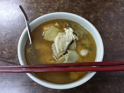 阿図麻油鶏を食べてみた感想
