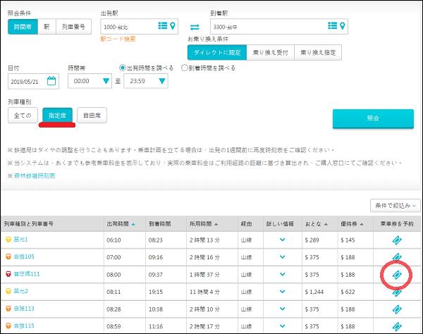 台湾鉄道のオンライン予約の方法