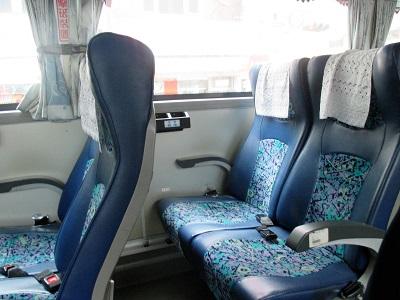 台北行き1819のバスは自由席