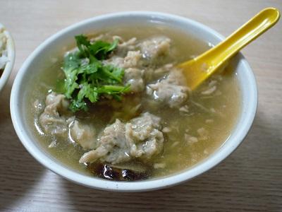 金峰魯肉飯の肉焿湯の感想