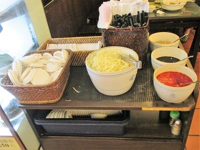 杭州小籠包の小籠包のタレ