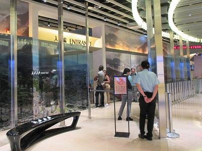 台北101展望台のエレベーター待ち時間