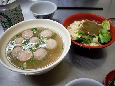 38號麺餃館の食事