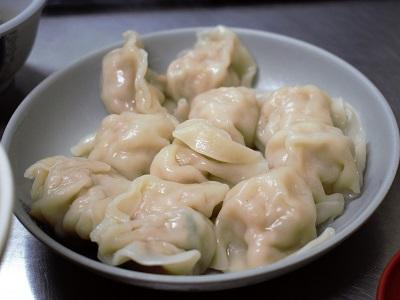 38號麺餃館の水餃子