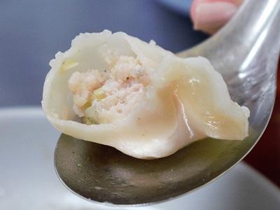 38號麺餃館の水餃子の中身