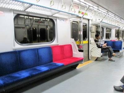 瑞芳駅から台北駅への区間車
