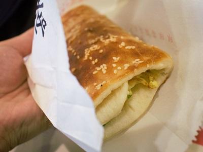 阜杭豆漿(フーハン・ドゥジャン)の厚餅夾蛋(ホウピンジャダン)を食べた感想