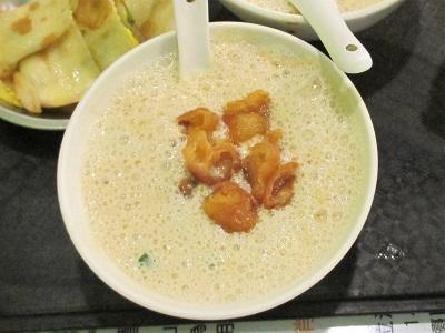 阜杭豆漿(フーハン・ドゥジャン)の鹹豆漿(シェンドウジャン)を食べた感想