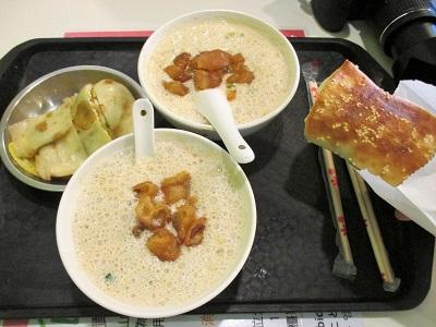 台北の朝食で人気の阜杭豆漿(フーハン・ドゥジャン)
