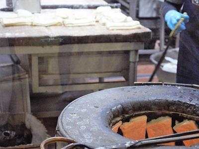 阜杭豆漿(フーハン・ドゥジャン)のキッチン2