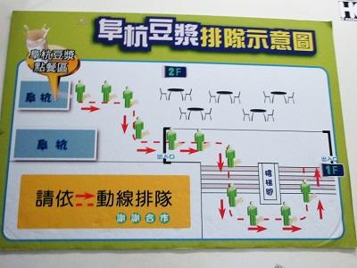 阜杭豆漿(フーハン・ドゥジャン)の列の並び方