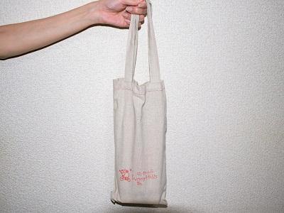 サニーヒルズのパイナップルケーキ10個入りの布製エコバッグ