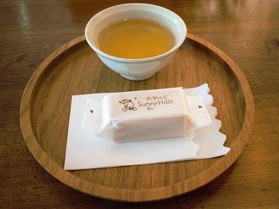 サニーヒルズ台北店のパイナップルケーキの試食セット
