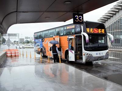 行天宮から桃園空港までのバスは早い1840か安い1841