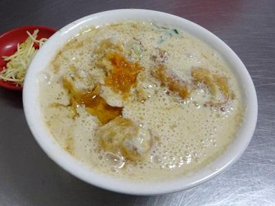 四海豆漿大王の鹹豆漿