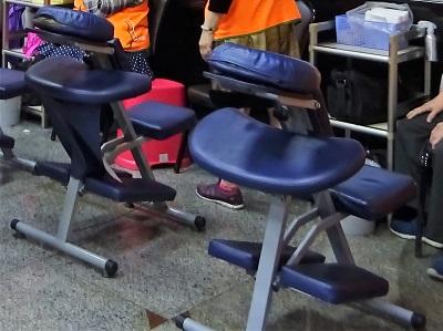 台北の上半身マッサージ椅子
