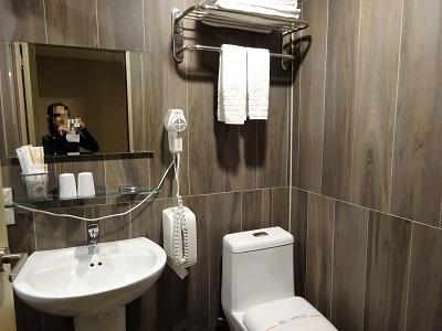 ホテルファンリンセン(趣旅館-林森館)のトイレとシャワールーム