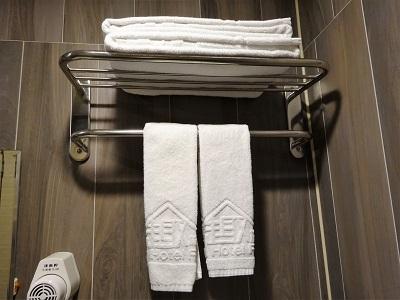 ホテルファンリンセン(趣旅館-林森館)のタオルは毎日交換