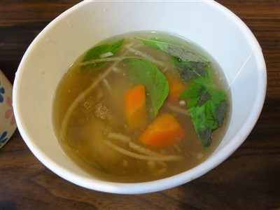 晴光意麺のトロミスープ