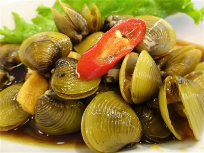 鮮定味生猛海鮮(錦州街店)のシジミのしょうゆ漬け22丁目