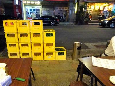 鮮定味生猛海鮮(錦州街店)の喫煙所