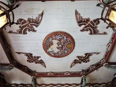 来青閣の天井