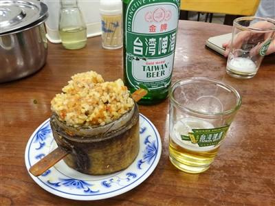 永康牛肉麺の粉蒸排骨1