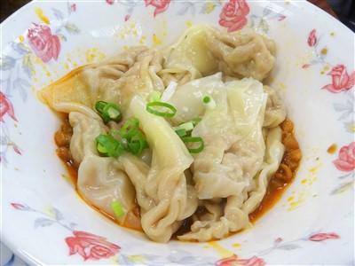 永康牛肉麺の紅油炒手1