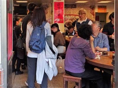永康牛肉麺の1階席