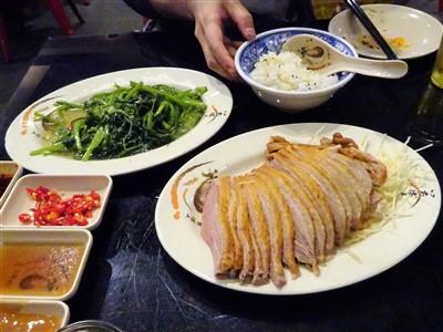 阿城鵝肉は台北のガチョウ肉の有名店
