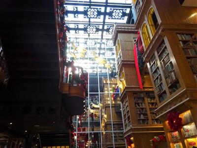 宮原眼科2階の醉月樓沙龍への階段