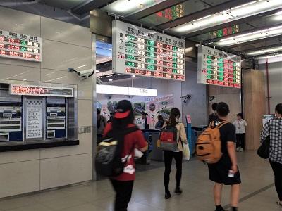 宮原眼科の最寄りは台鉄台中駅