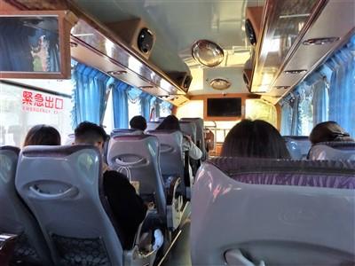 kkdayのバスは自由席