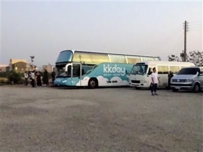 ほかのkkdayのツアーバス