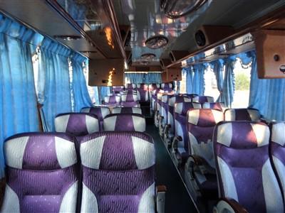kkdayのバス車内